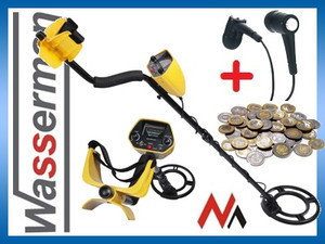 Maclean Wykrywacz metalu MCE969 + słuchawki gratis