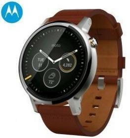 Motorola Moto 360 46mm Cognac Leather Brązowy
