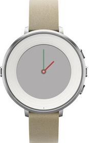 Pebble Time Round Beżowy