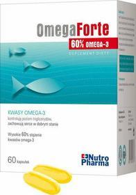 Nutro Pharma Omega Forte 60% EPA + DHA 60 szt.