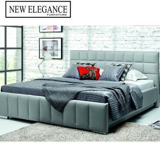 New Elegance óżko tapicerowane Kalipso H 120x200