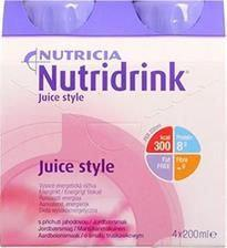 N.V.Nutricia NUTRIDRINK JUICE STYLE O SMAKU TRUSKAWKOWYM 4x200 ML 3057021