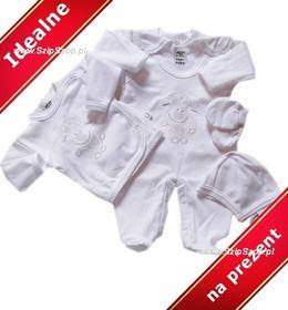 Wyprawka dla noworodka Owieczka biel 5 części 56
