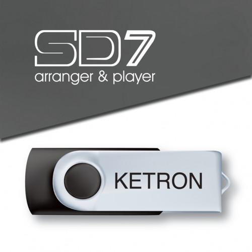 Ketron PEN DRIVE 2016 STYLE UPGRADE VOL.2 do SD7