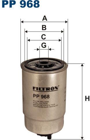 Filtron Filtr Paliwa PP968