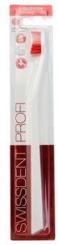 Swissdent Colours Single szczoteczka do zębów soft medium White & Red