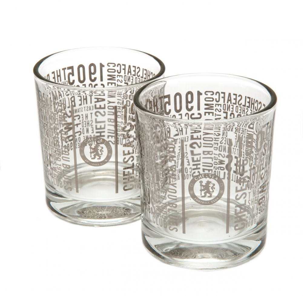 Chelsea Londyn - szklanki do whisky