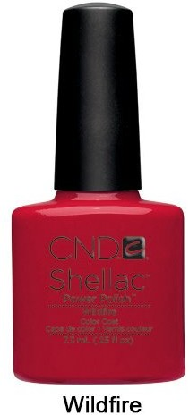 CND Shellac Wildfire 7,3ml - Lakier hybrydowy do paznokci