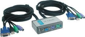 D-Link DKVM-2KU Przełącznik KVM PS2+USB