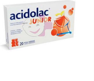 Medana Acidolac Junior Misie 20 szt.