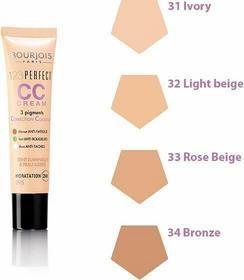 Bourjois 123 Perfect CC Cream Krem tonujący CC 31 Ivory 30ml