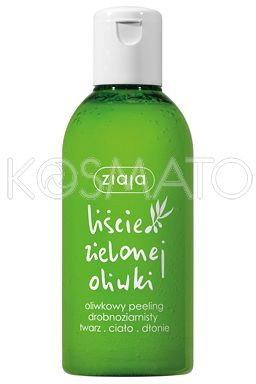 Ziaja Liście Zielonej Oliwki, Peeling Myjący Drobnoziarnisty, 200ml
