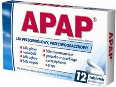US Pharmacia Apap 500mg 2 szt.