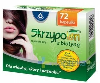 Oleofarm Skrzypolen z biotyną 72 kapsułek