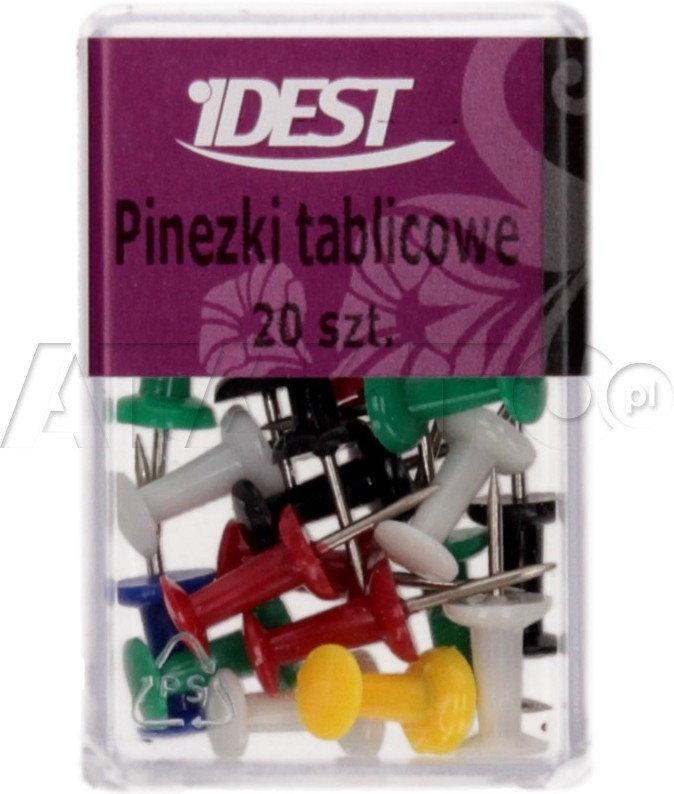 Opinie o E&D Pinezki tablicowe (20) pudełko Idest PX1755