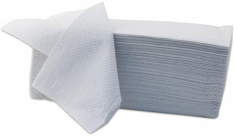 Merida Pojedyncze ręczniki papierowe Z Economy - białe, karton 4000 firmy - PZ26