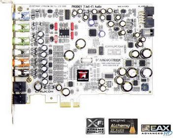 Audiotrak Prodigy 7.1e X-Fi Audio