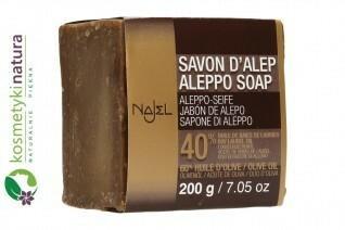 ALEPPO Mydło w kostce Premium z olejem laurowym 40% Najel 43AE-86295