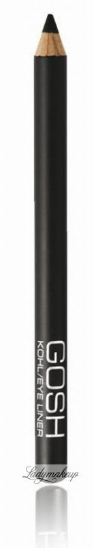 Gosh Kohl Eye Liner - Kredka do oczu - BLACK GS54500