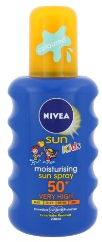 Nivea Sun Kids Coloured Sun Spray SPF50+ 200ml U Opalanie 73110