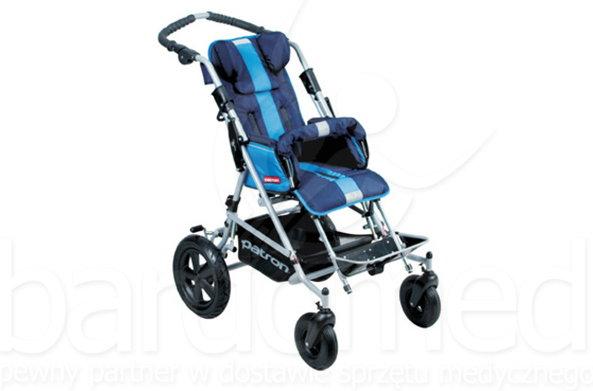 Mobilex Wózek inwalidzki dziecięcy spacerowy Patron TOM X-Country super maxi sze