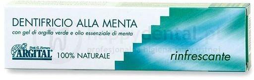 Argital Alla Menta 75ml - w 100% naturalna pasta odświeżająca na bazie olejku mi