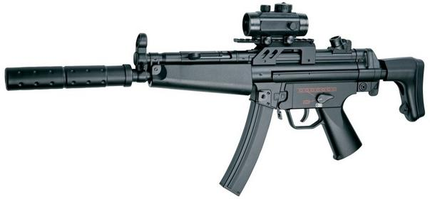 Action Sport Games Pistolet maszynowy ASG DLV B&T5 A5 AEG SET (17274)