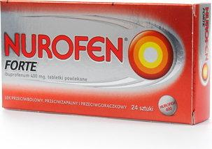Boots Healthcare Nurofen Forte 400mg 24 szt.