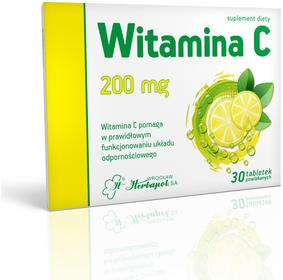 Herbapol Witamina C 200mg 30 szt.