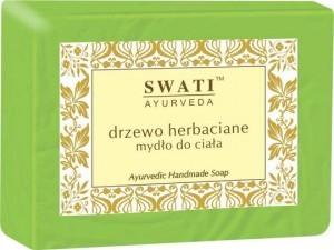 Swati Mydło w kostce Drzewo Herbaciane Indyjskie 100g