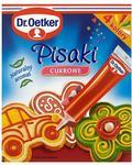 Dr Oetker Pisaki cukrowe 76 g (4 kolory)