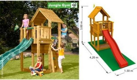 Jungle Gym Plac zabaw Cubby
