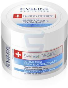 Eveline Swiss Recipe Multiodżywczy ultralekki krem do twarzy i ciała 50ml
