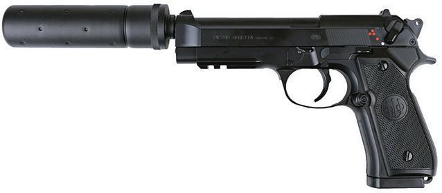 Umarex Pistolet Beretta 92A1 Tactical (2.5975) G