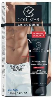 Collistar Uomo 3in1 Shower-Shampoo Cleanses Tones Moisturizes szampon i żel pod