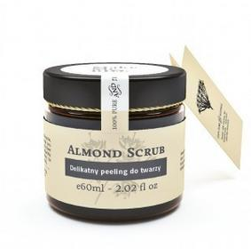 Make Me Bio Almond Scrub - delikatny peeling do twarzy, 60ml