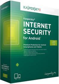 Kaspersky Mobile Internet Security for Android 1 stanowisko 12 miesięcy) wersja elektroniczna