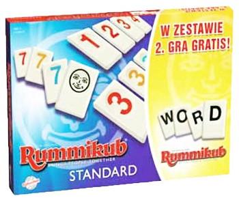 TM Toys Rummikub + Rummikub Słowny