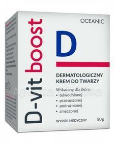 Oceanic D-VIT BOOST Dermatologiczny krem do twarzy 50 g