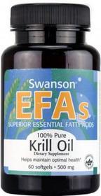 SWANSON EFA Krill Oil 60 szt.