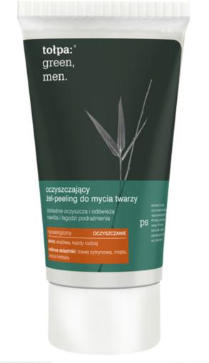 Tołpa Green Men - Oczyszczający żel- peeling do mycia twarzy 150ml