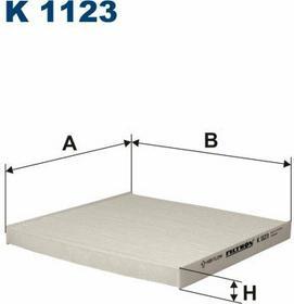 FILTRON K 1123 Filtr Kabinowy
