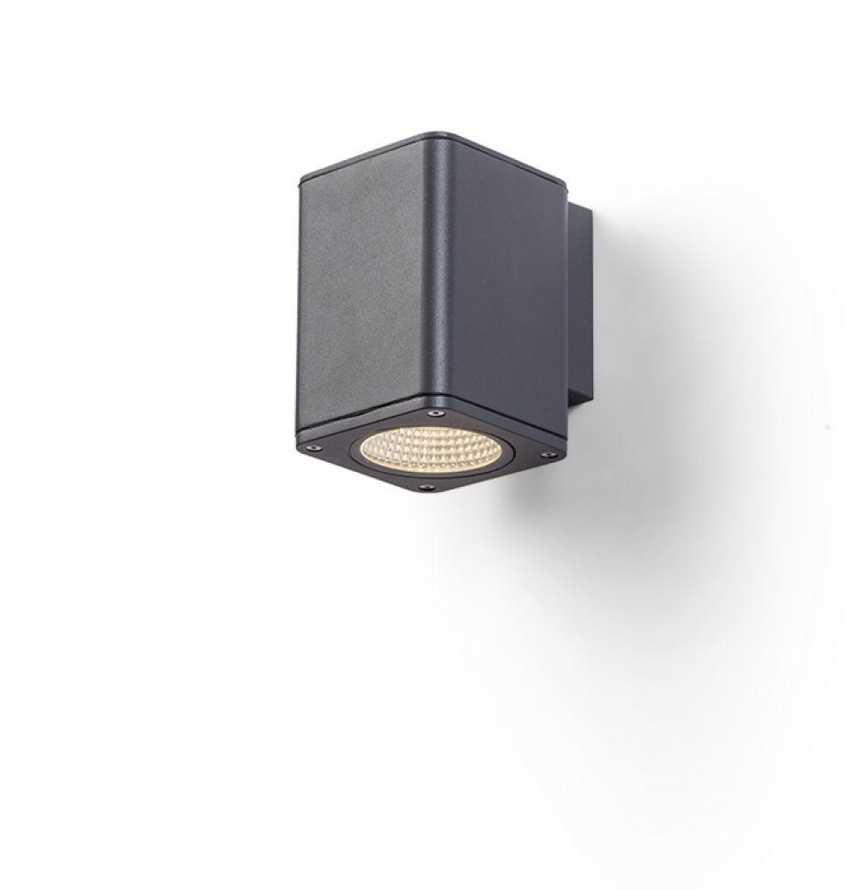 Redlux Rendl MIZZI SQ I Lampa ścienna antracyt 230V LED 12W IP54 3000K R11964) Rendl