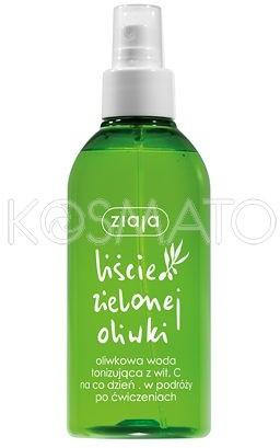 Ziaja Liście Zielonej Oliwki, Woda Tonizująca Spray, 200ml