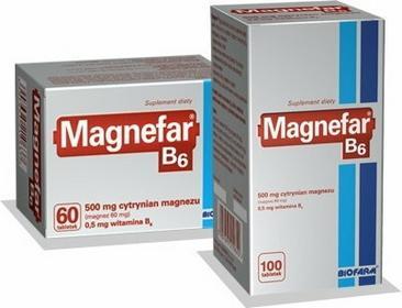 Biofarm Magnefar B6 60 szt.