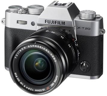 Opinie o Fuji X-T20 + 18-55 srebrny