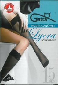 Gatta Podkolanówki Laycra bezuciskowe 15 DEN (2pary) Nero
