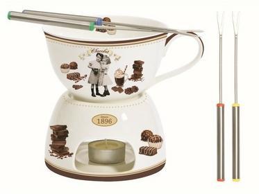 Zestaw fondue do czekolady 0,4L Nuova R2S Chocolate Vintage 1140 CHOV 1140 CHOV
