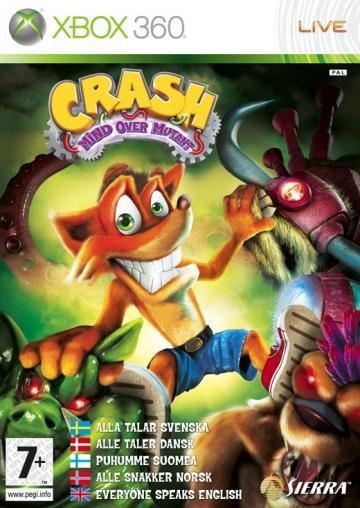 Crash Bandicoot Mind Over Mutant Xbox 360