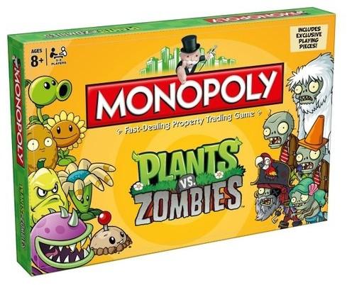 MUVE Muve Monopoly Plants Vs. Zombies
